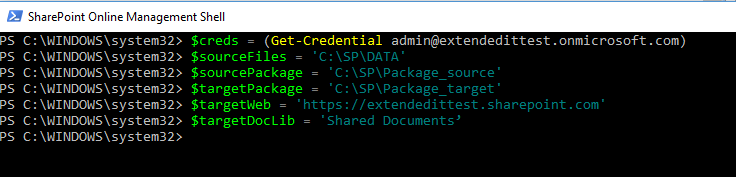 SharePoint Online Variables